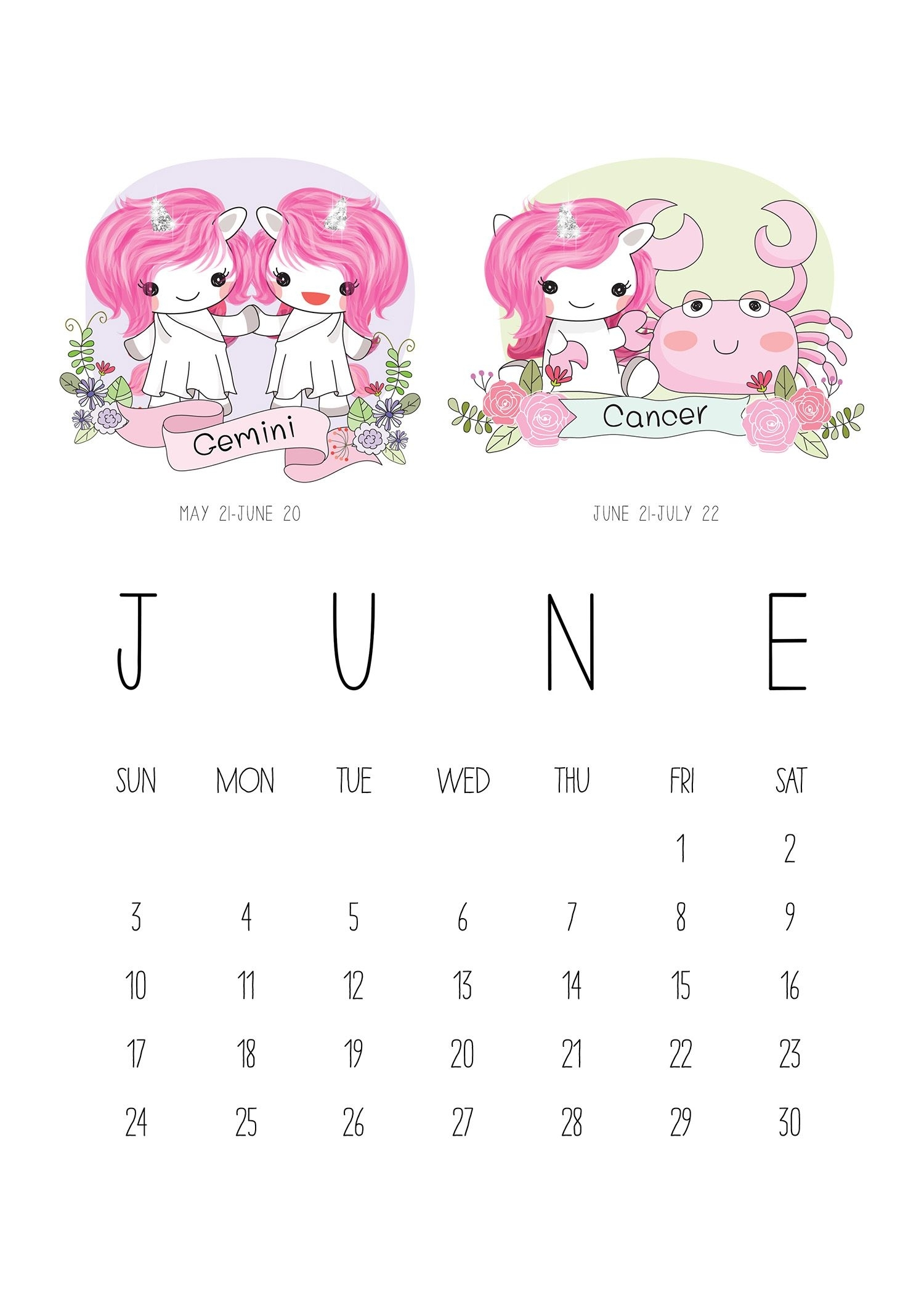 Pinbeamwaraporn Jk On ปฏิทิน | Calendar, Unicorn, Zodiac