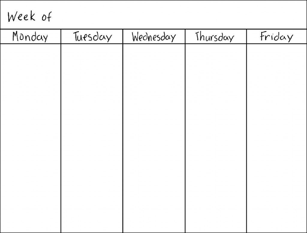 Pinjessica Johnson On Organize | Weekly Calendar