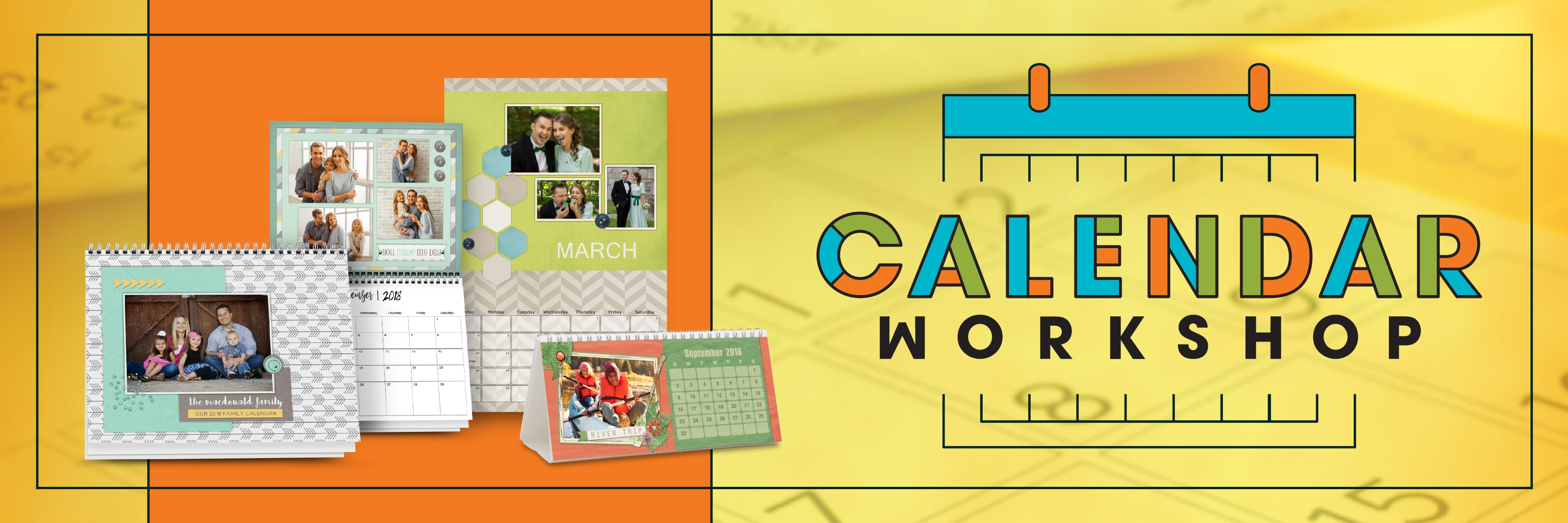 Pixels2Pages | Calendar Workshop (Artisan 5)
