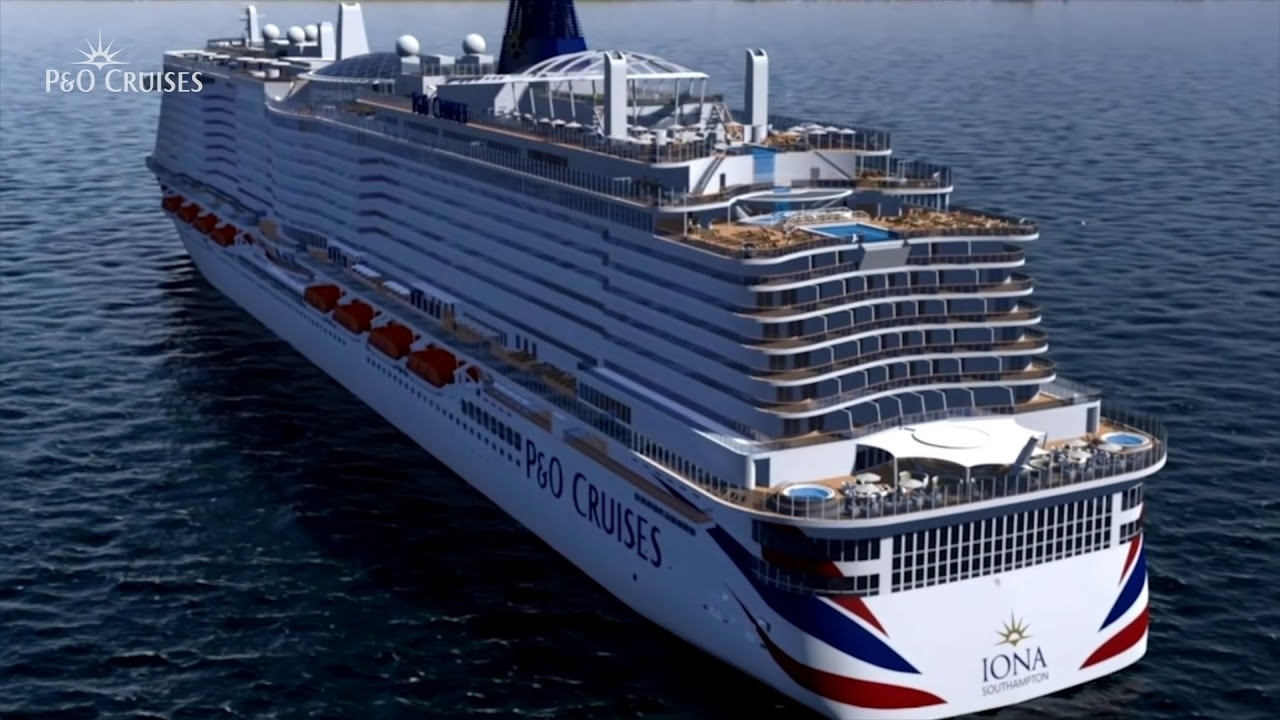 P&o Cruises Iona Animation