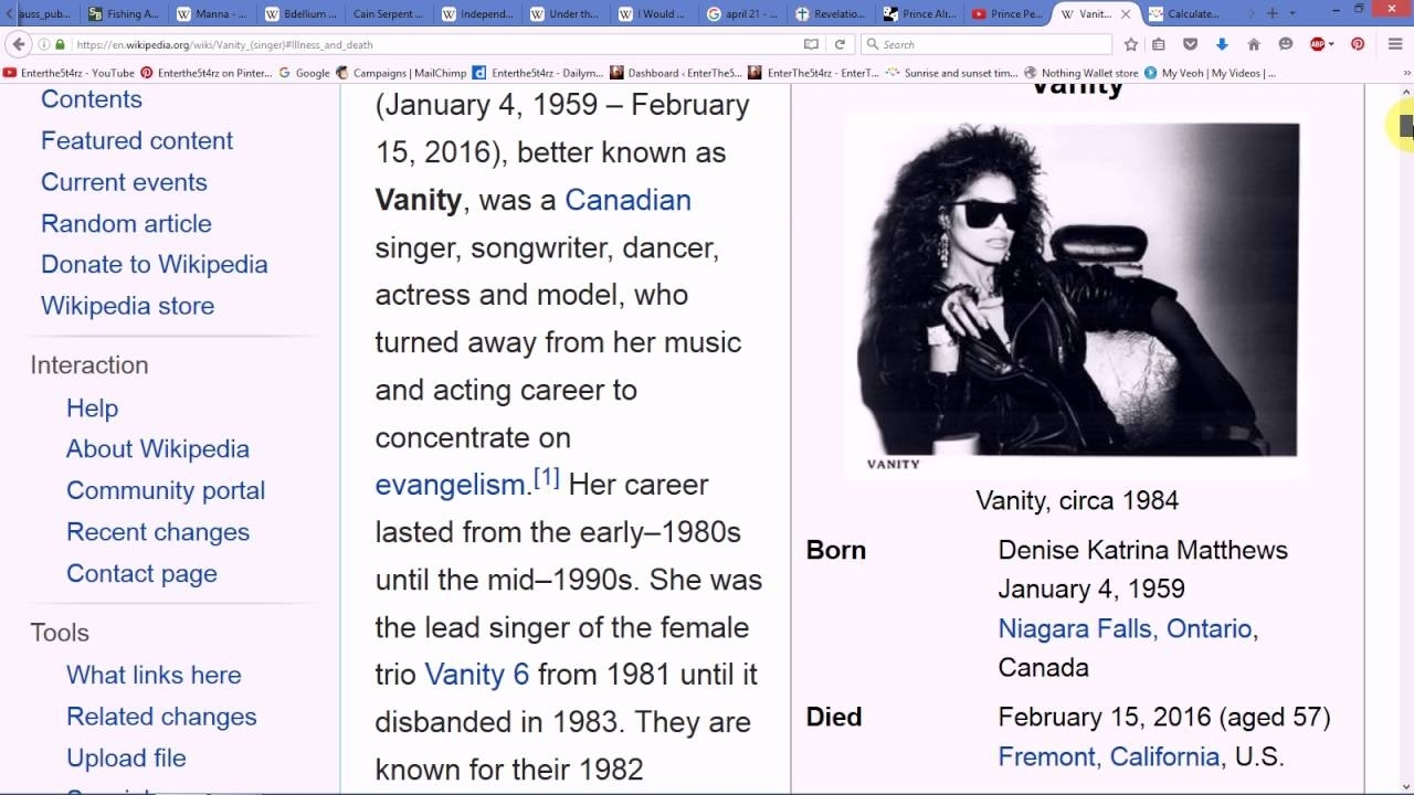 Prince Already Died In An Elevator 19 Years Ago In A Year
