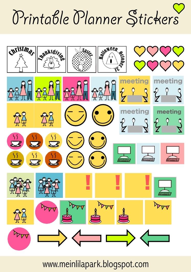 Print Calendar Reminder Stickers | Calendar Template 2019