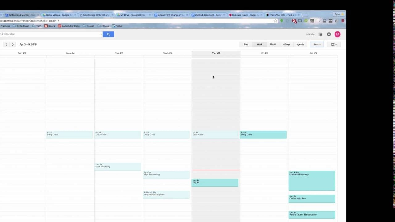 Print Google Calendar Instructions With Hd Images