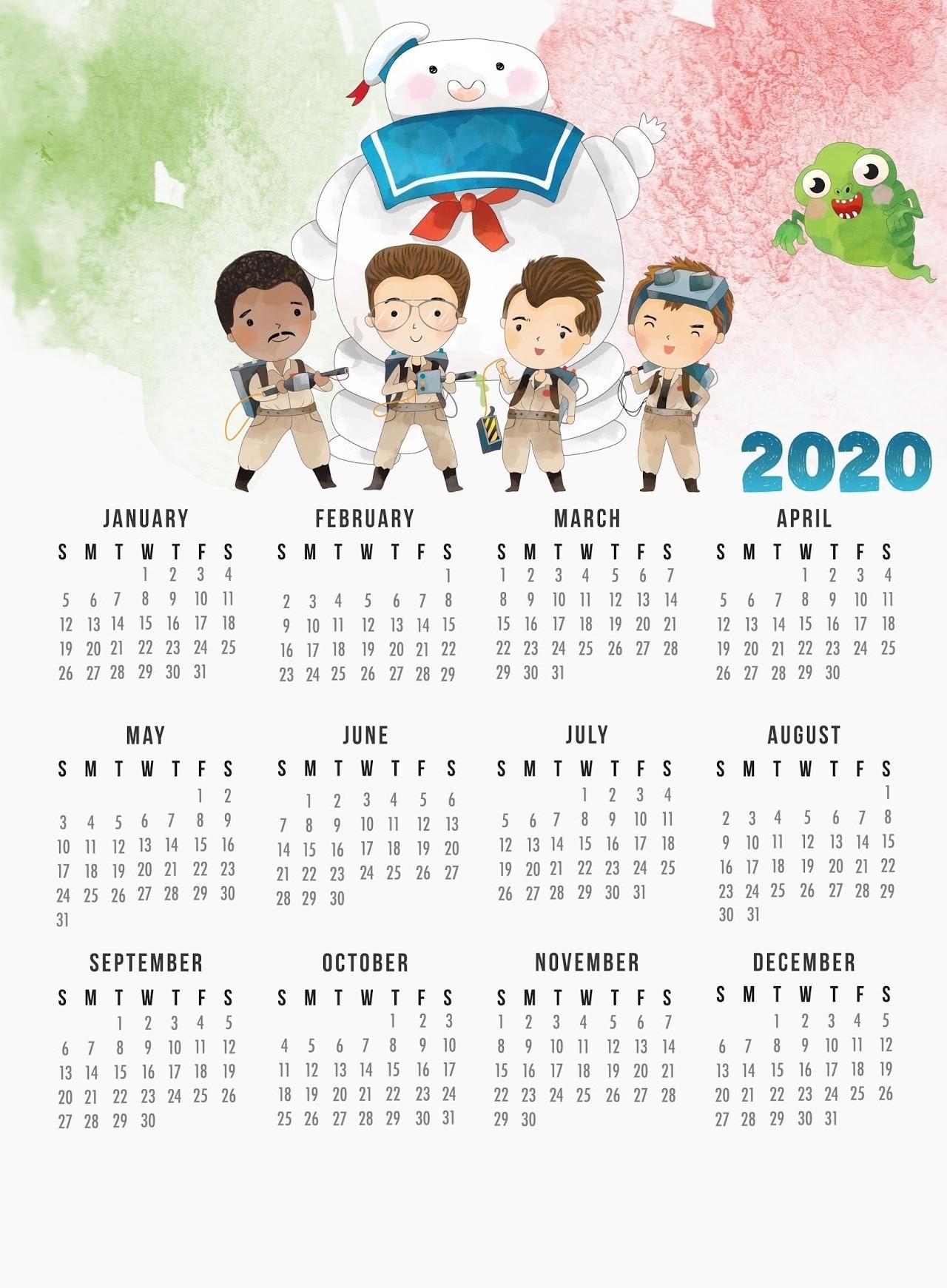 Printable 2020 Calendar Template | Latest Calendar