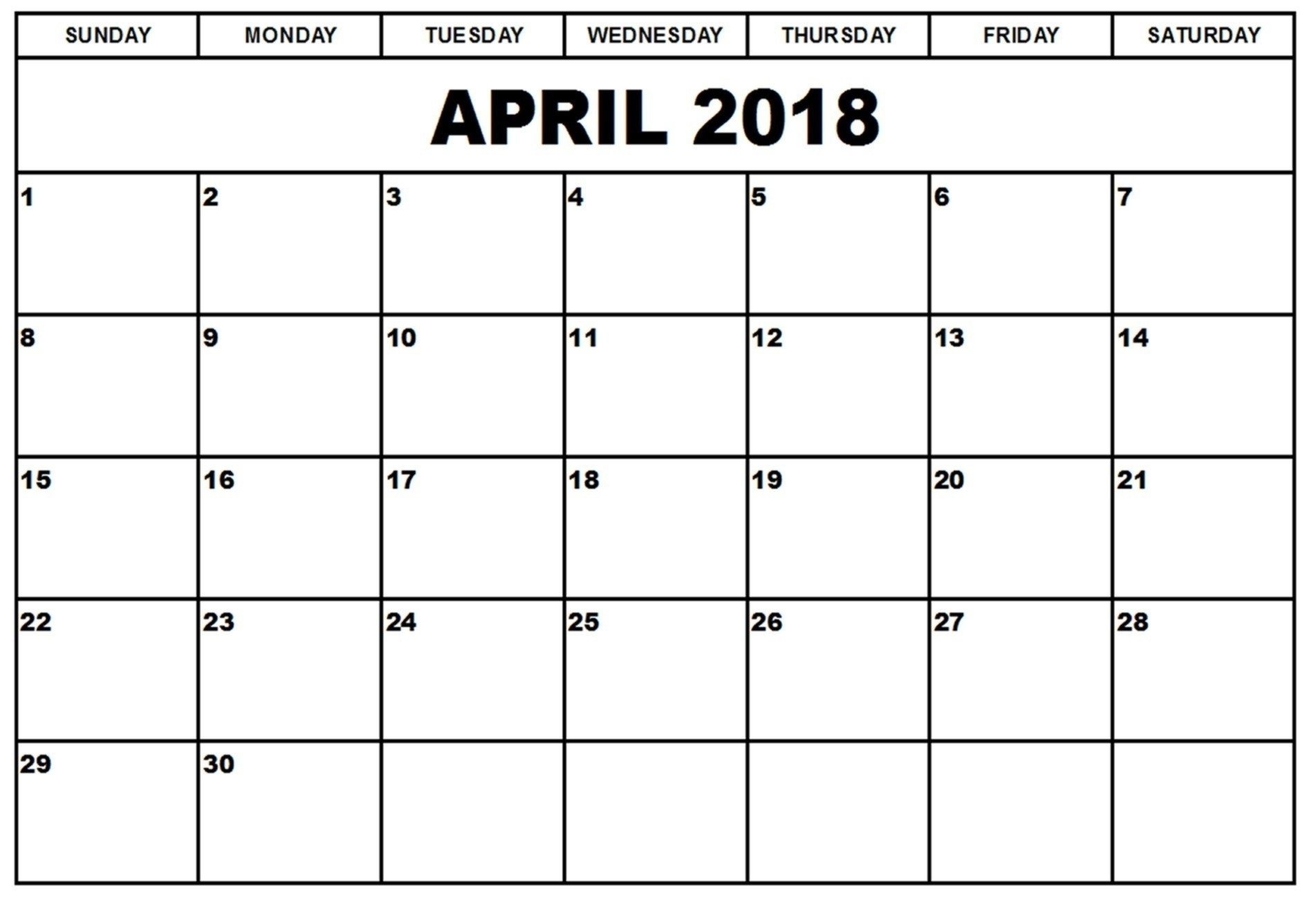 Printable Calendar 2018 Google | Printable Calendar 2020
