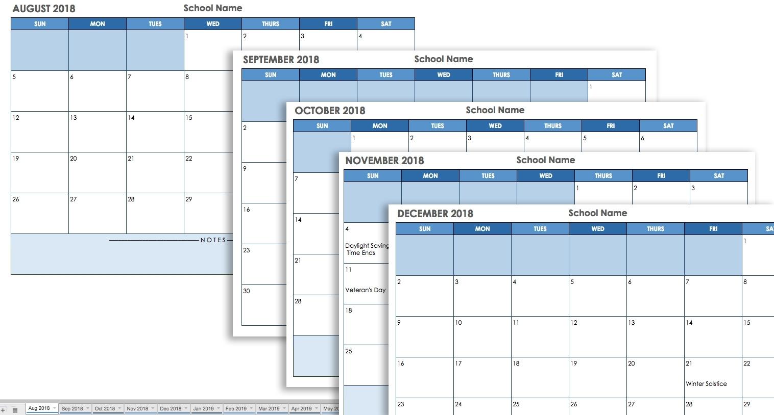 Printable Calendar 2018 Hra Consulting | Printable Calendar 2020
