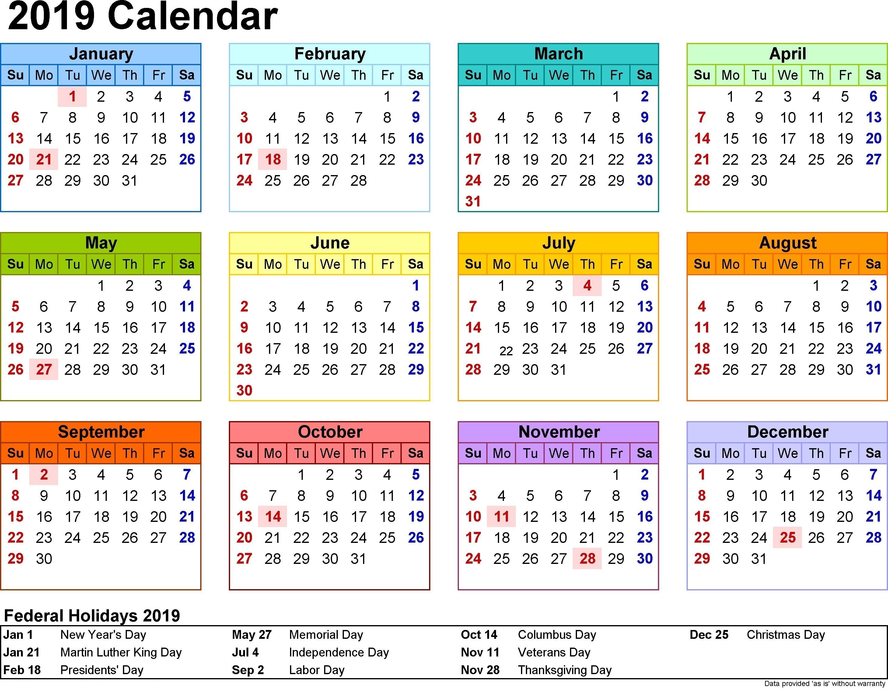 Printable Calendar 2019 Ireland | Printable Calendar 2020
