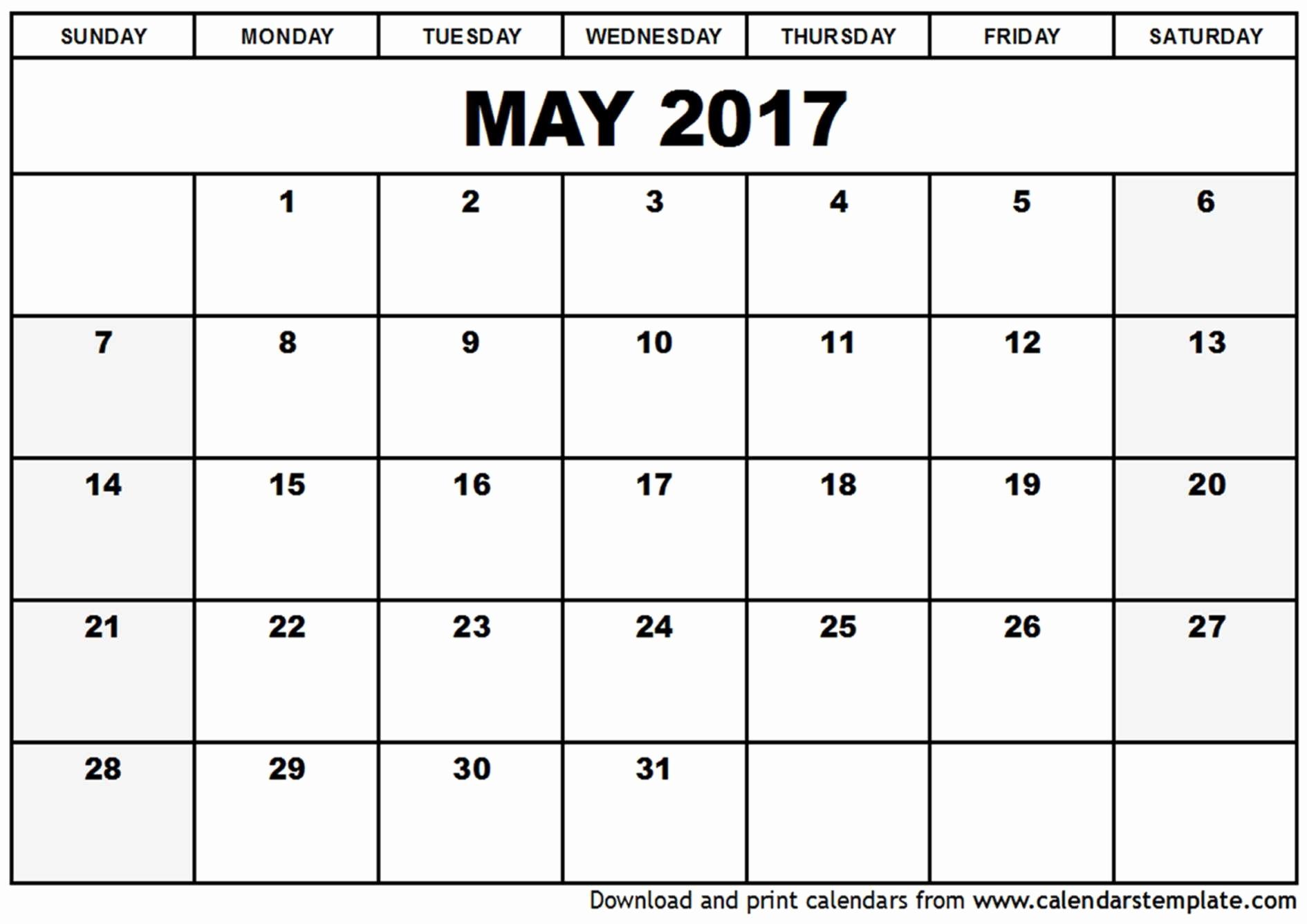 Printable Calendar 2019 Waterproof Paper | Printable