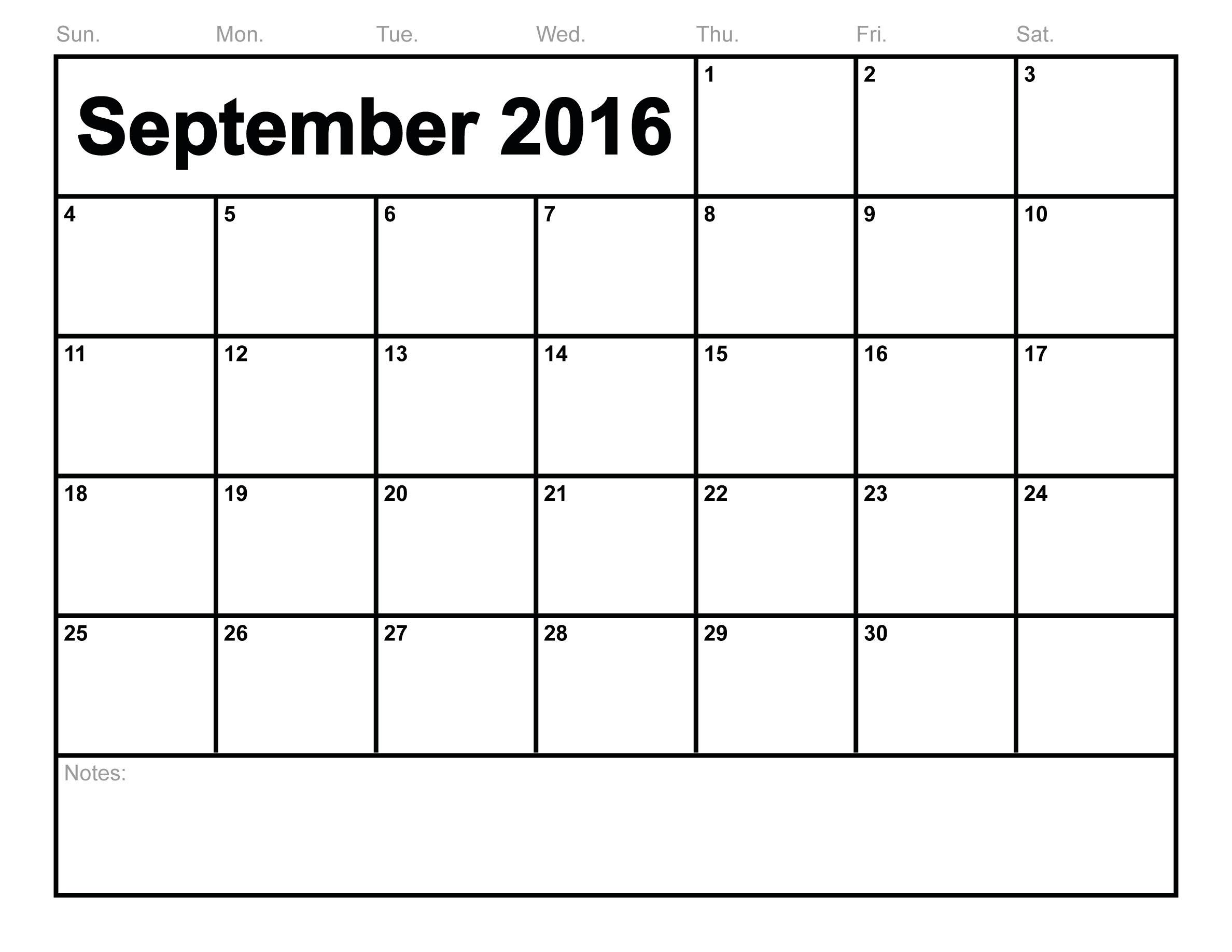 Printable Calendar Headings | Printable Calendar 2019