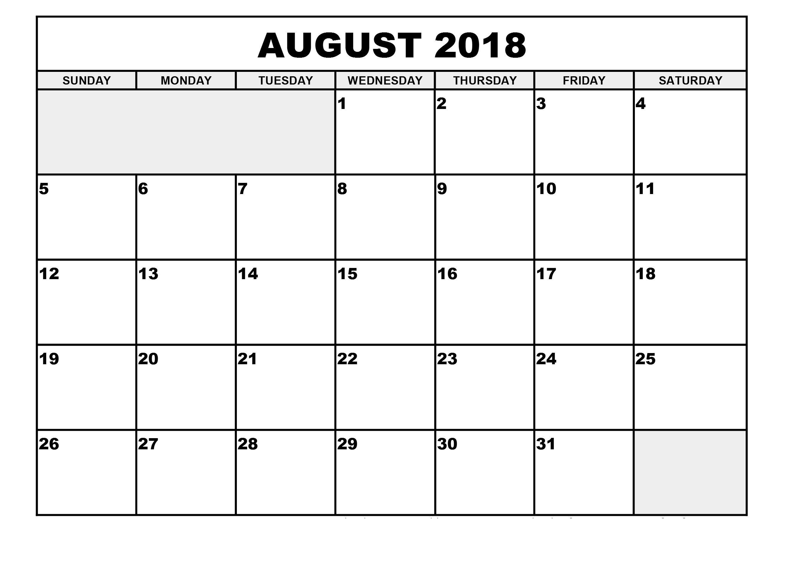 Printable Calendar Large Print | Printable Calendar 2020