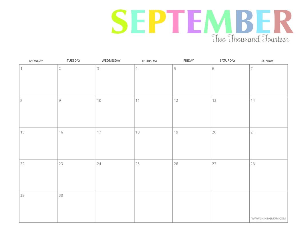 Printable Calendar Mom | Printable Calendar 2019