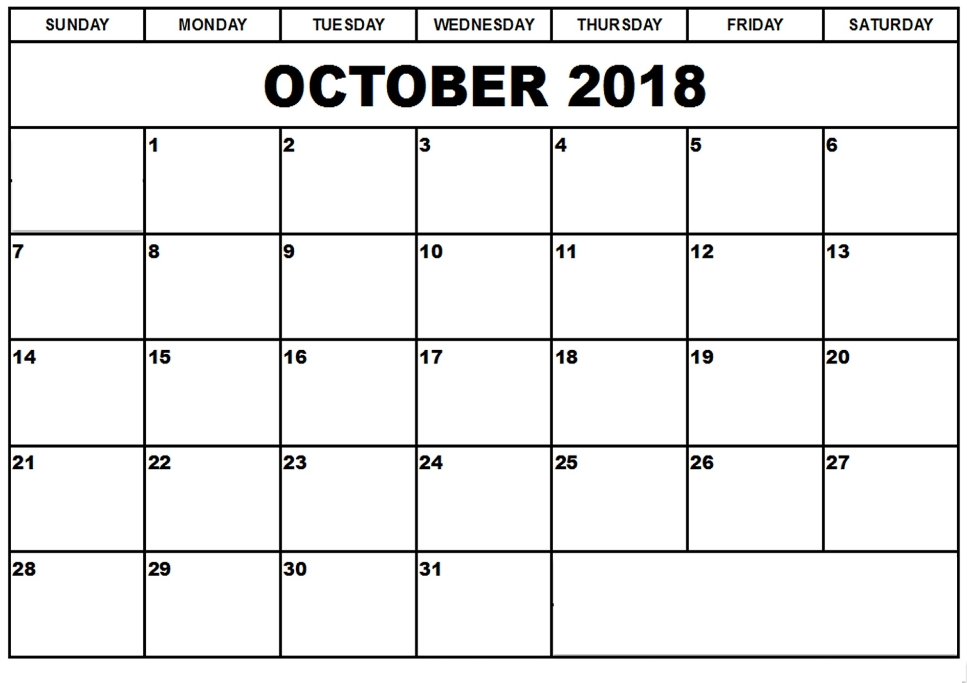 Printable Calendar To Write On   Printable Calendar 2020