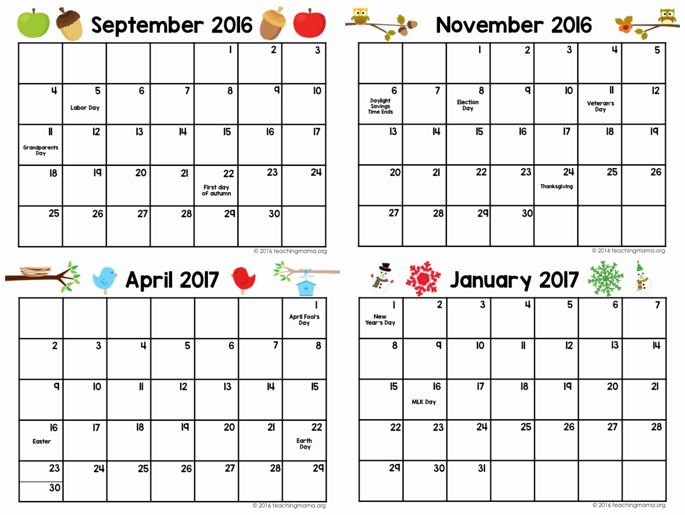 Printable Calendar You Can Add Text | Printable Calendar 2019