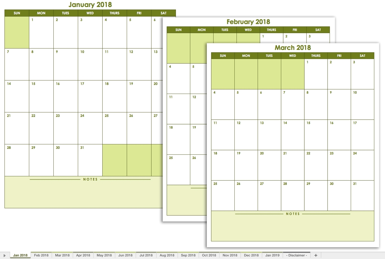 Printable Calendar You Can Edit | Printable Calendar 2020