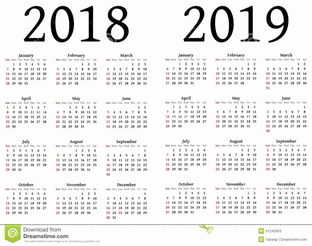 Printable Date To Date Calendar   Ten Wall Calendar