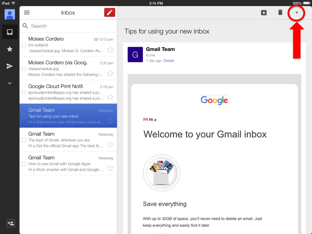 Printing From Gmail On Ipad - Technology Handbook