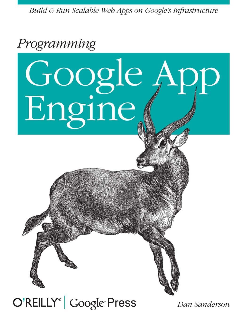 Programming Google Apps Engine | Manualzz