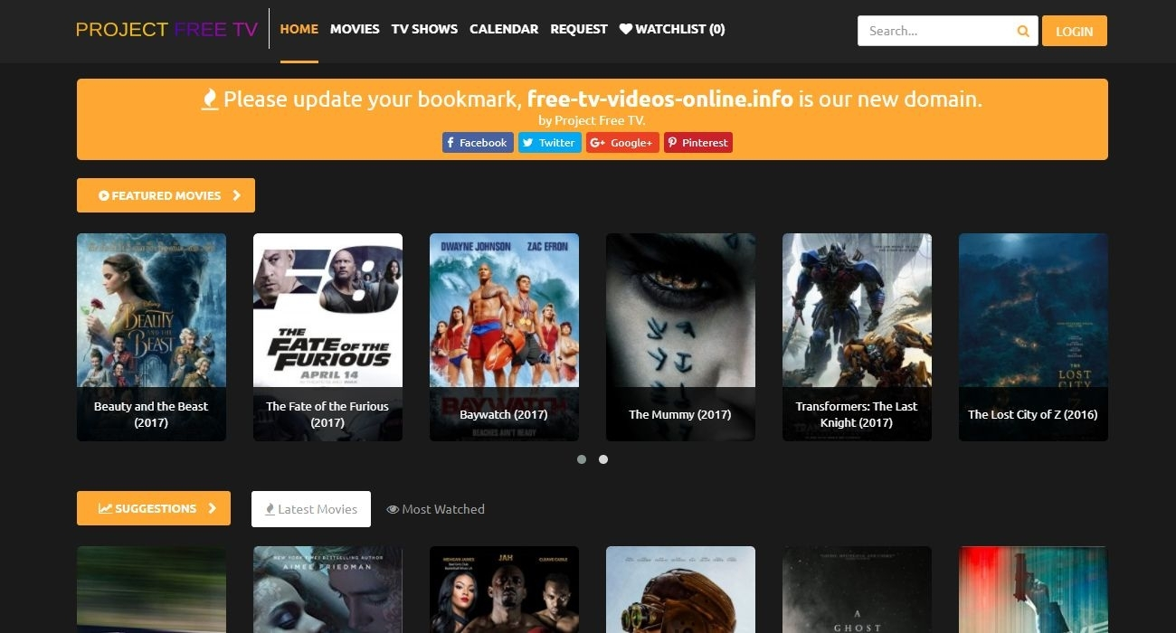 Project Free Tv - #1 Online Streaming Site For Watch Free Tv