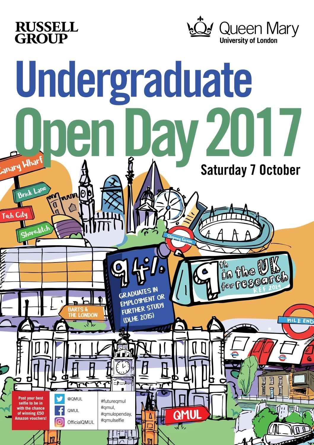Queen Mary University Of London Open Day Programme October