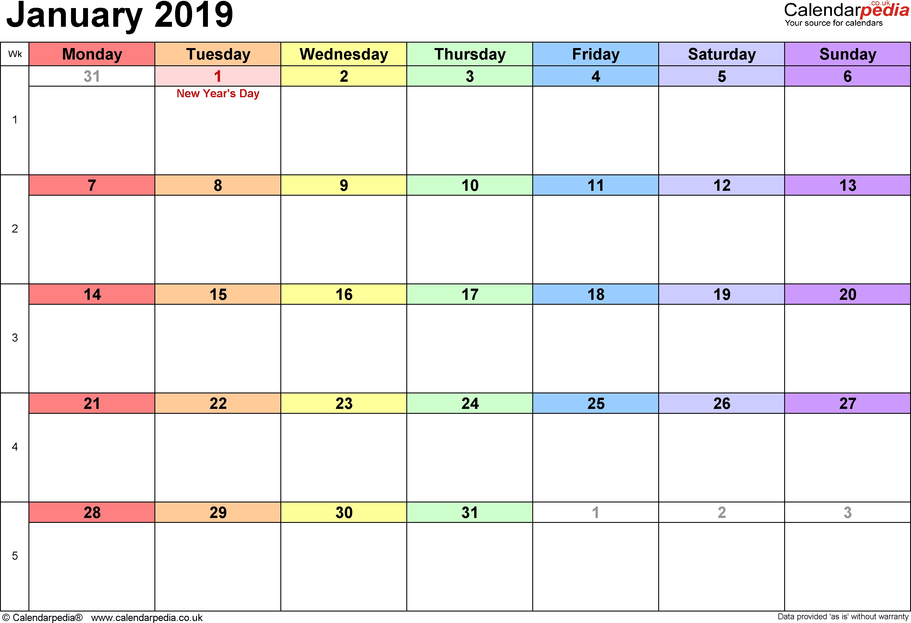 Rainbow Calendar 2019 - Yahoo Image Search Results | June