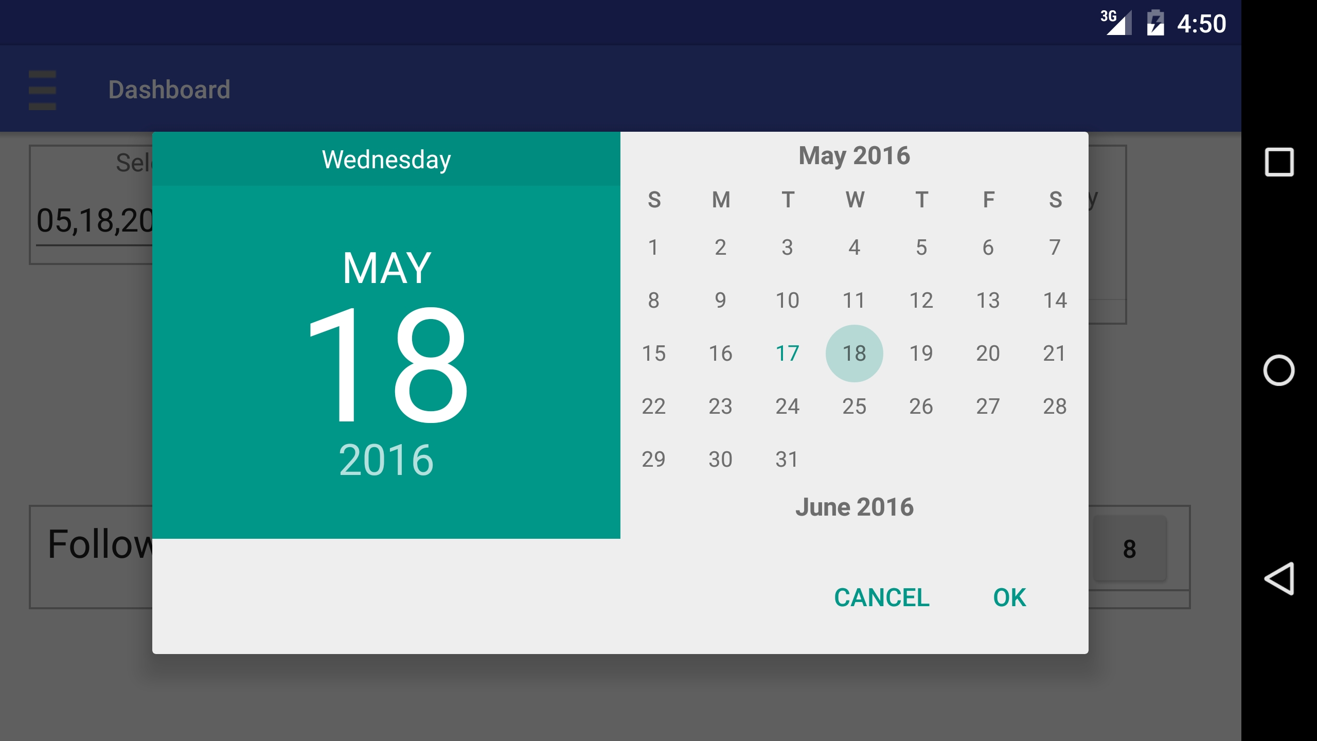 Remove The Extra Day Month And Year On Android Calendar