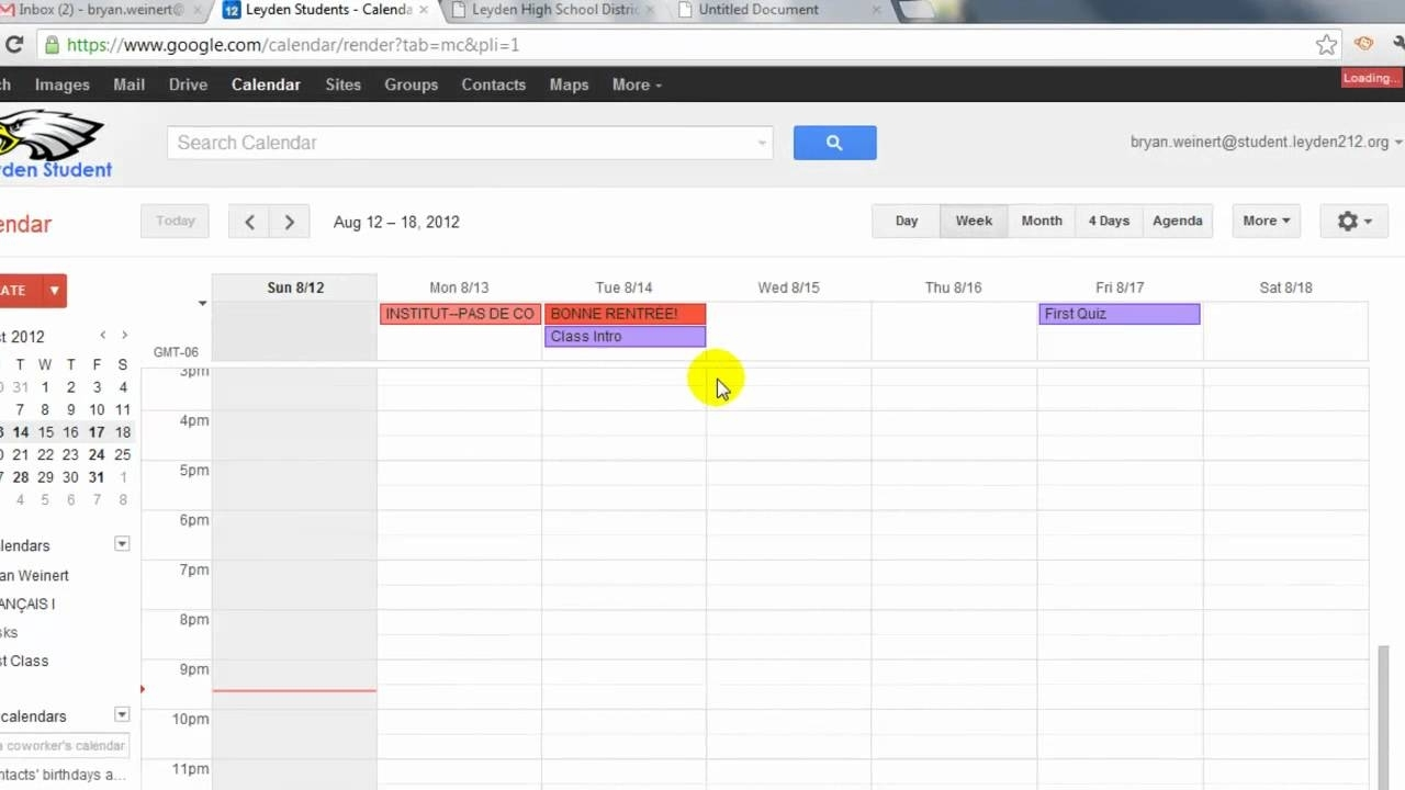 Replacing Printed Planners With Google Calendars And Tasks