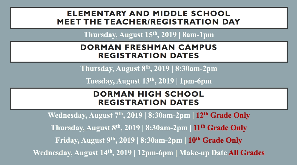 Returning Student Pre-Registration – Parents & Students