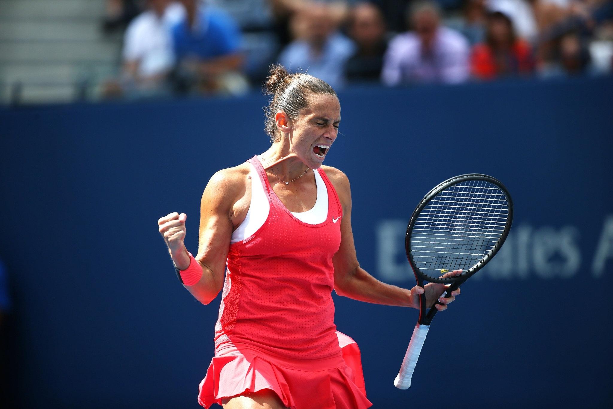 Roberta Vinci Ends Serena Williams's Grand Slam Bid At U.s.
