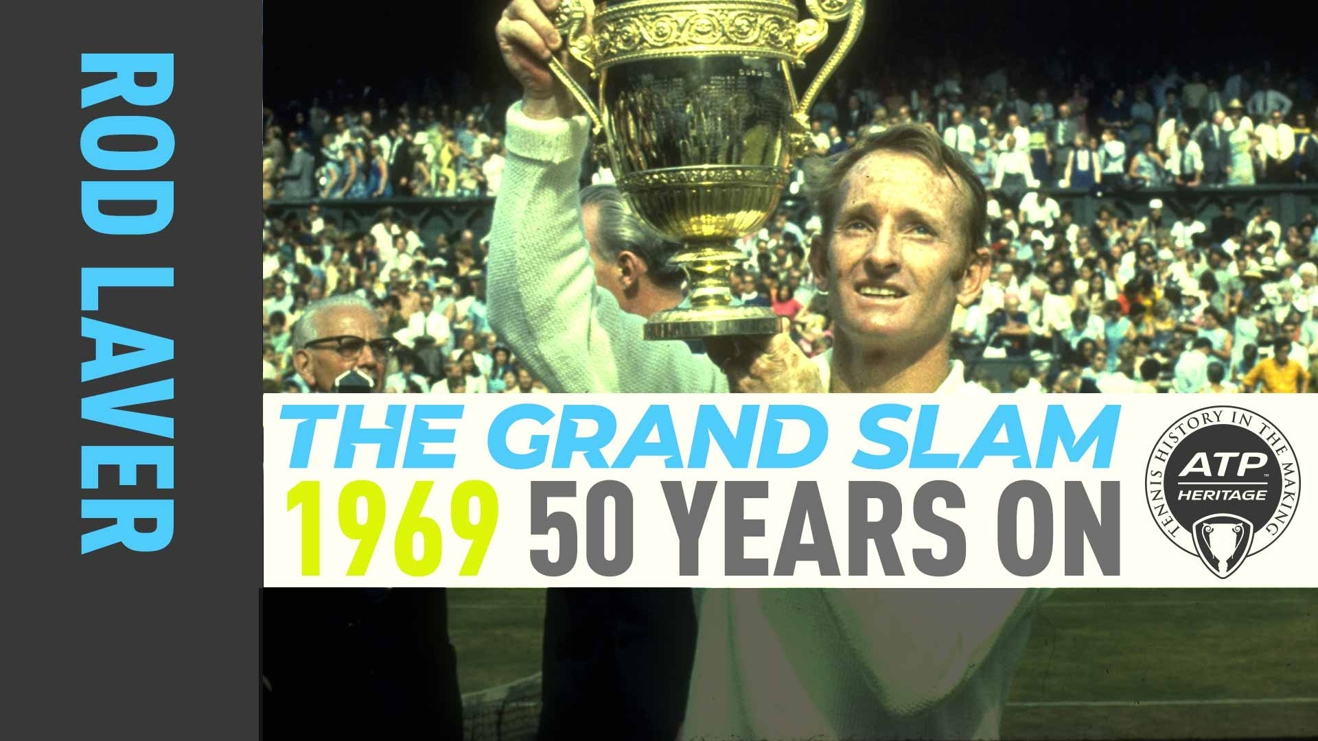 Rod Laver's Grand Slam: 1969 Wimbledon, 50 Years On | Atp
