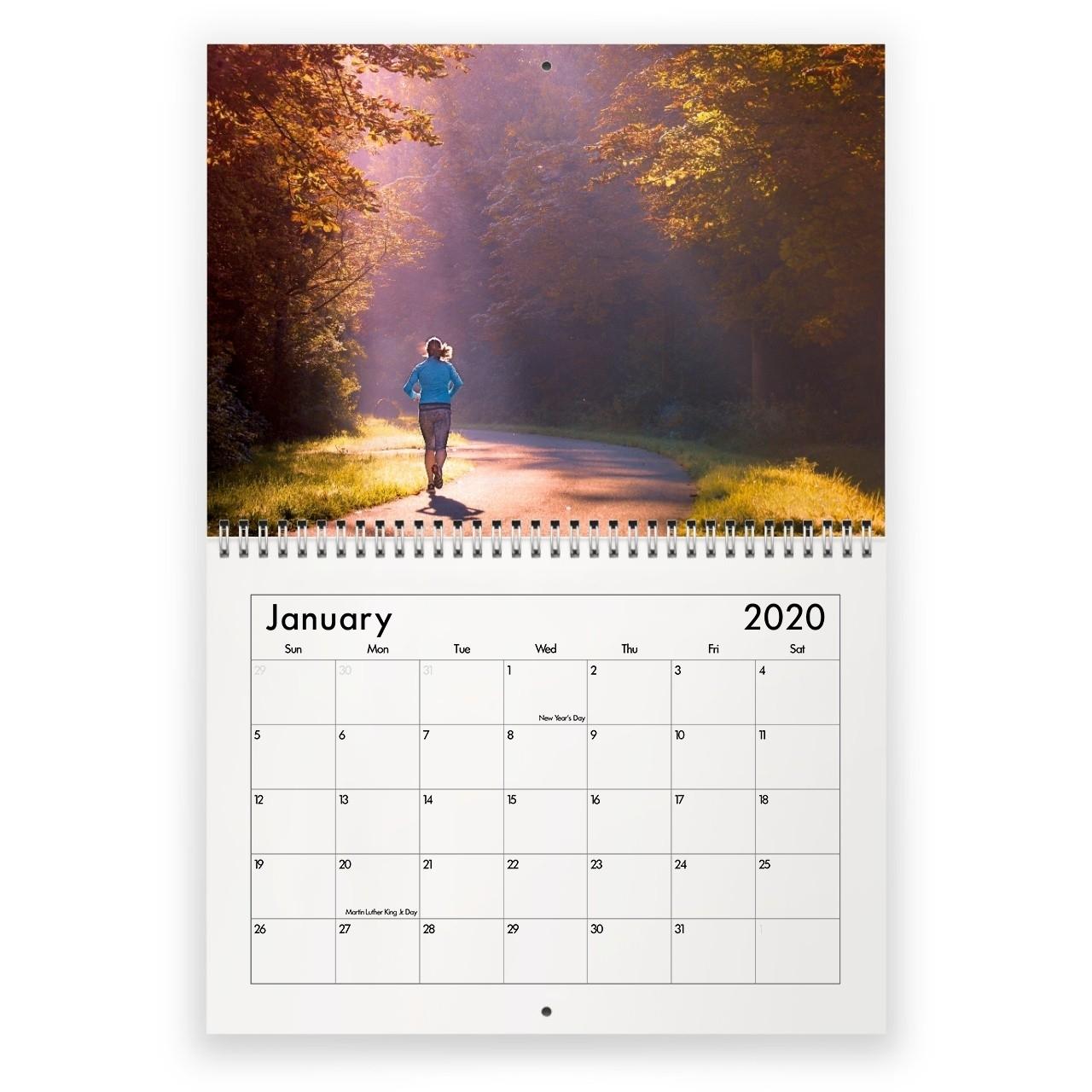 Running 2020 Calendar