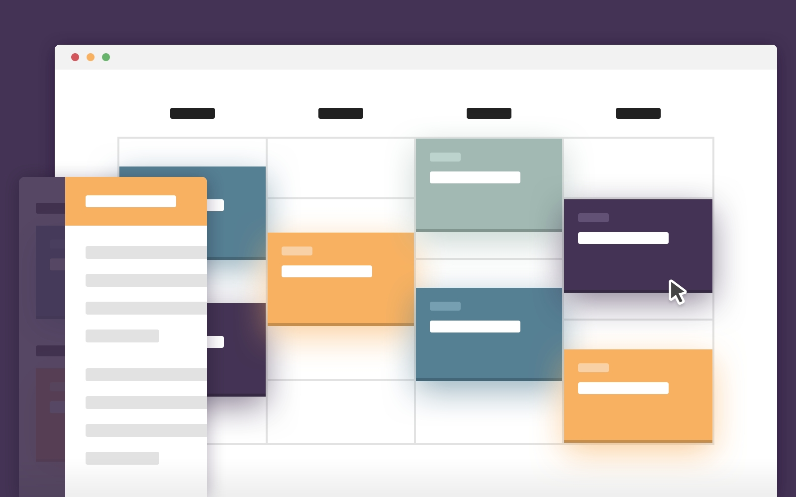 Schedule Template In Css And Javascript | Codyhouse