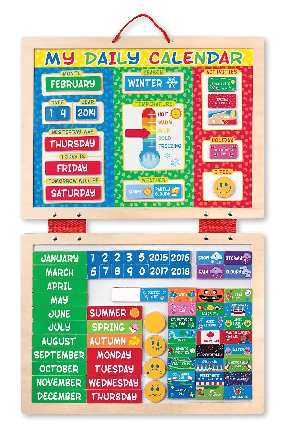 Seasons, Temperature, Schedule, Kids, Responsibility, Chart