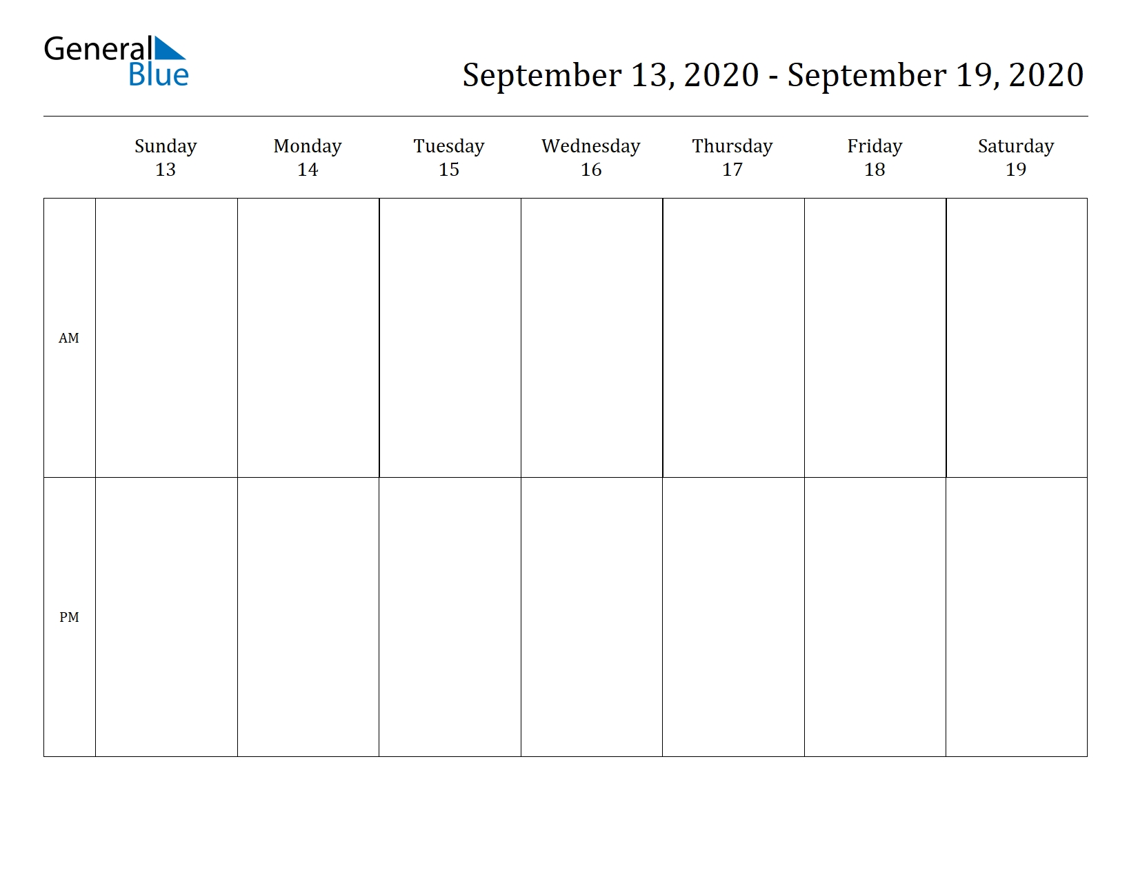Sep 2020 Calendar - Cerno.mioduchowski