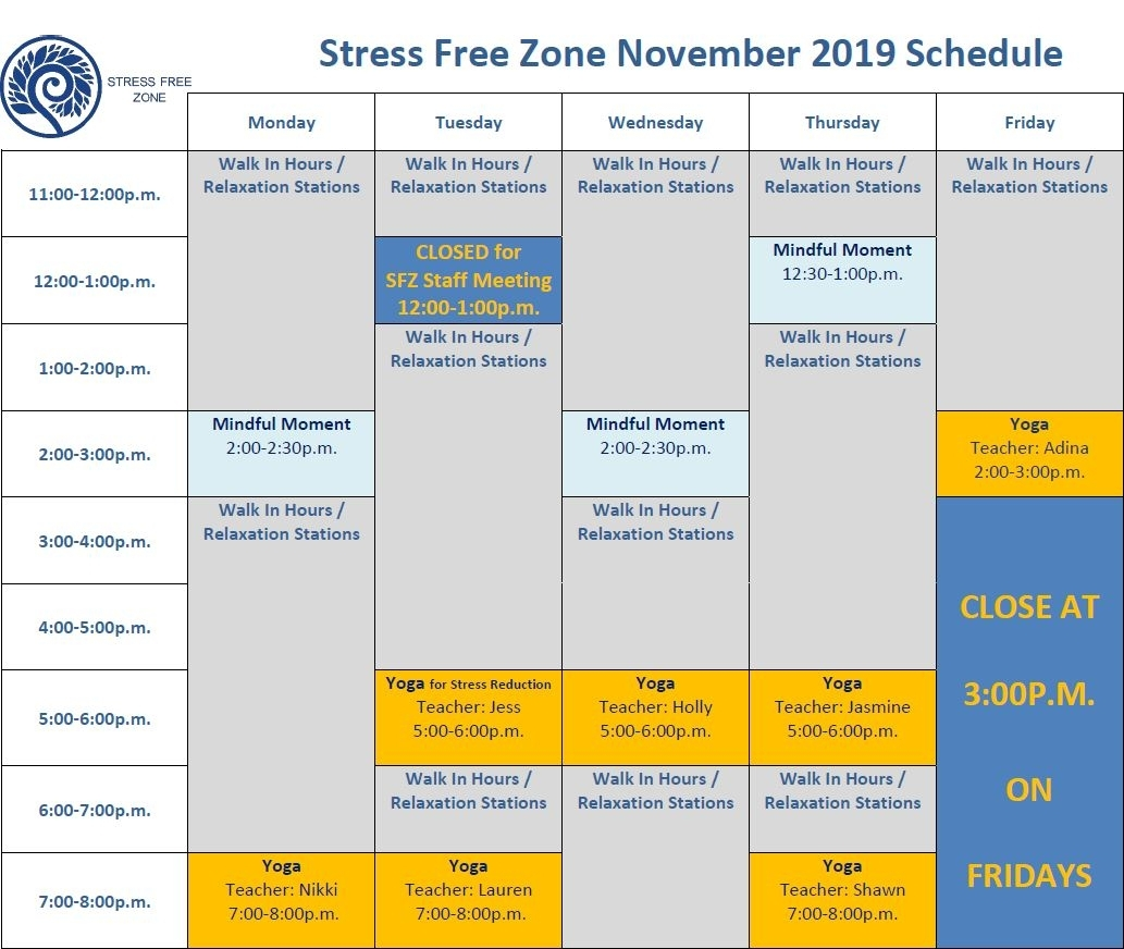 Sfz Calendar | Student Affairs