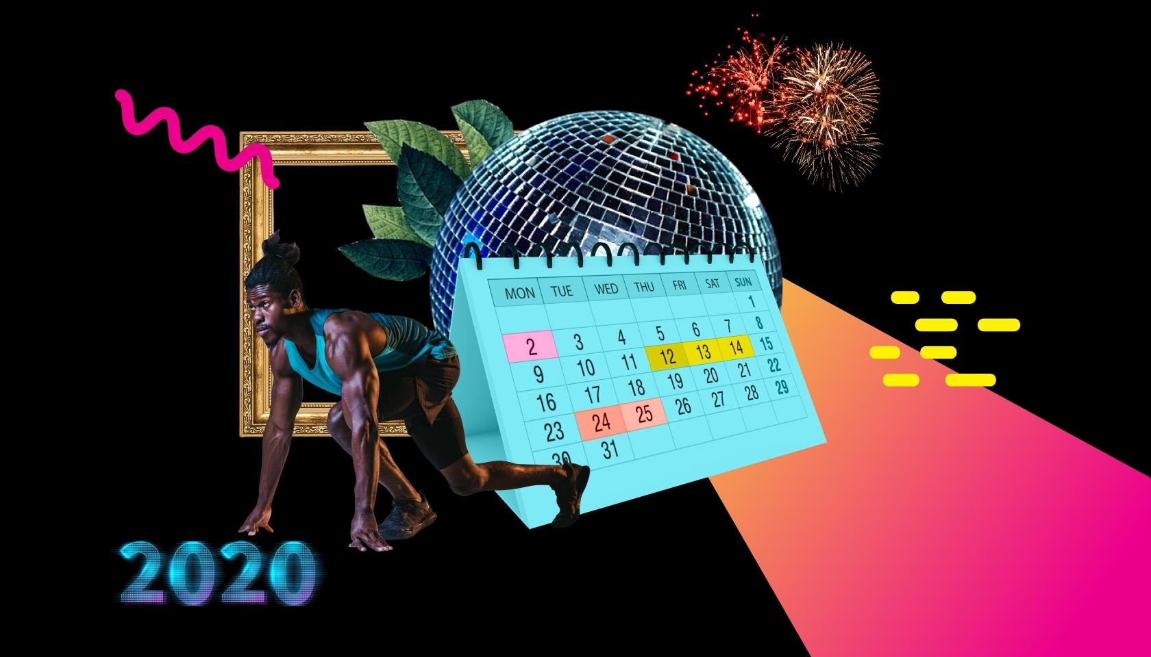 Social Media Events Calendar 2020