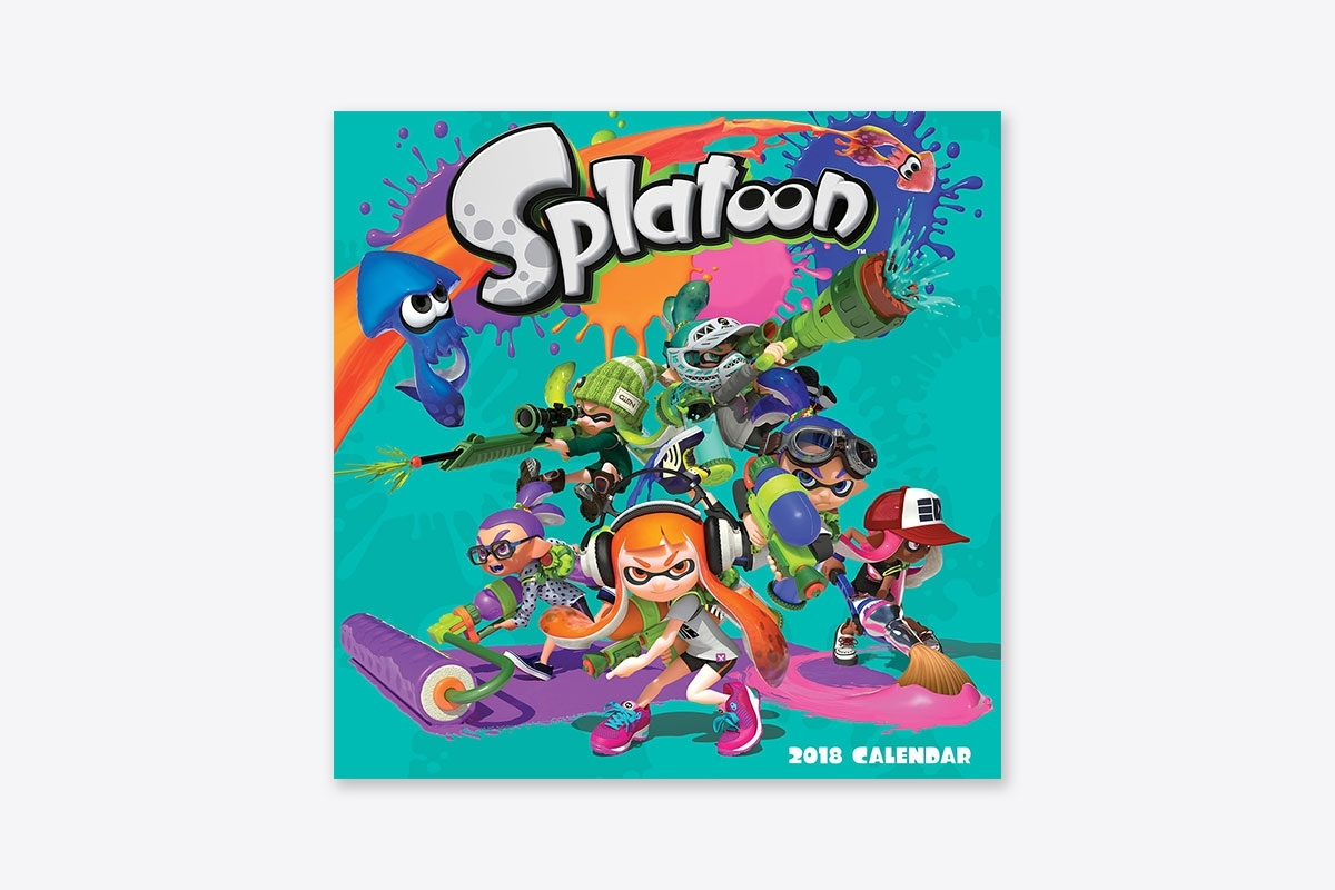 Splatoon™ 2018 Wall Calendar (Wall) | Abrams