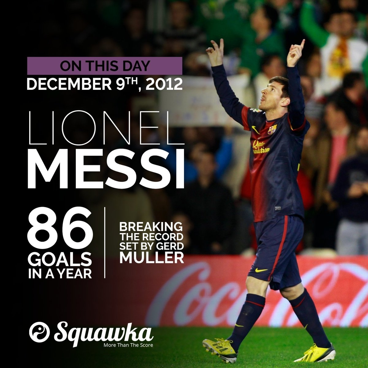"""Squawka Football On Twitter: """"on This Day: In 2012, Lionel"""
