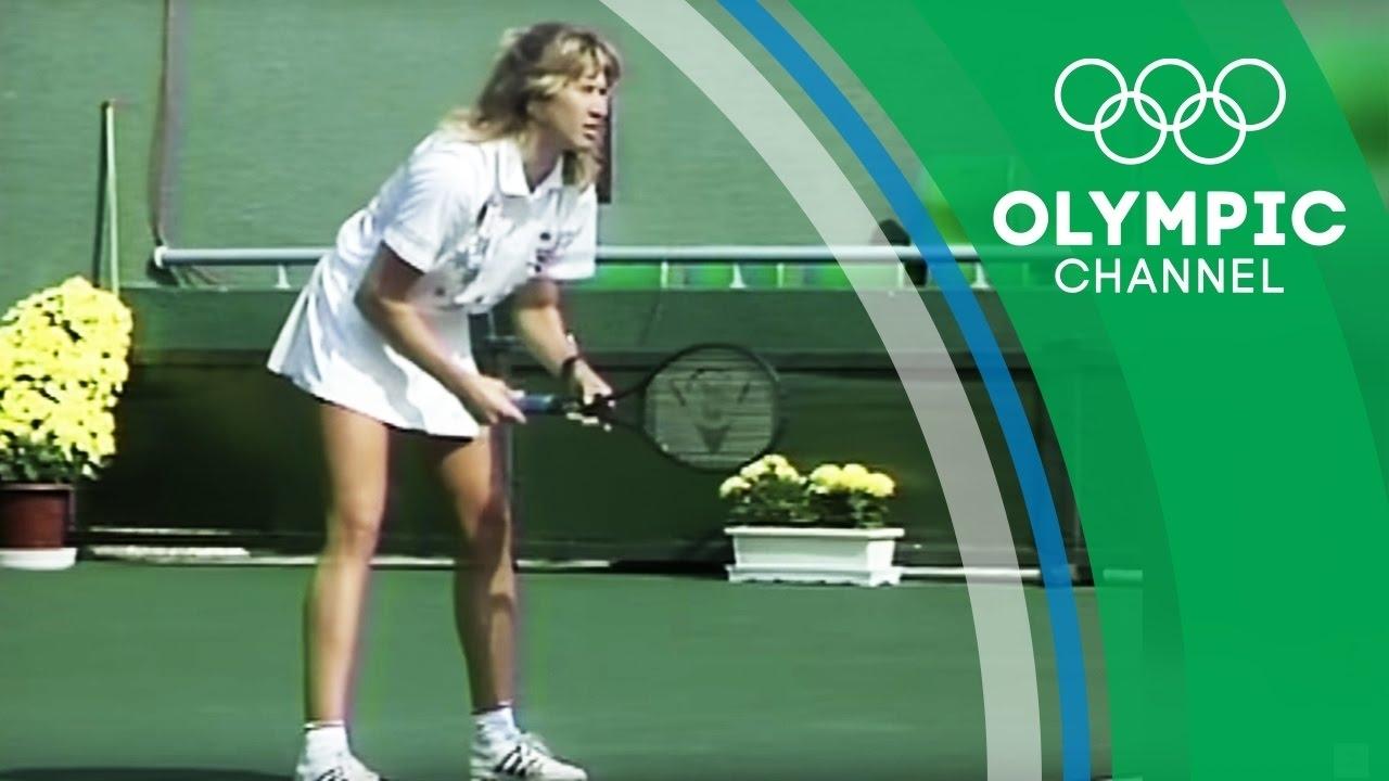 Steffi Graf Is The Only Tennis Player To Ever Win A Calendar Golden Slam |  Throwback Thursday