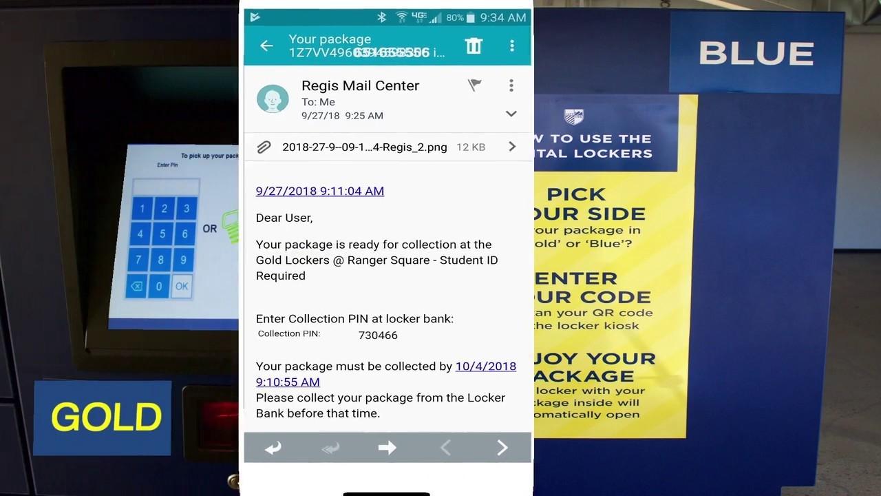 Student Package Lockers - University Services - Regis Copy