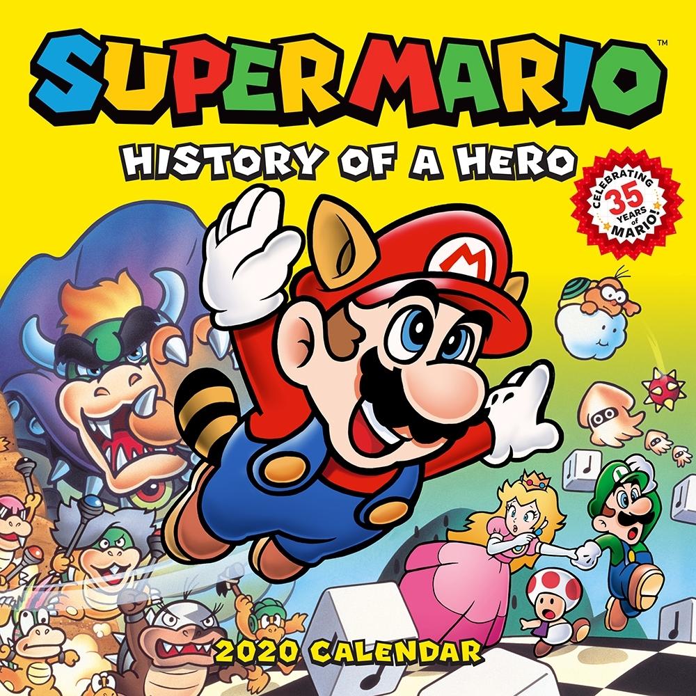 Super Mario 2020 Wall Calendar: Portraits Of A Plumber