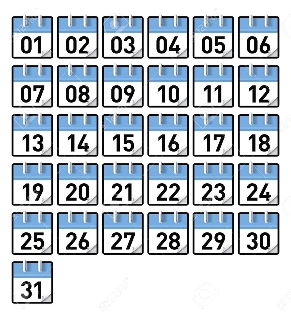 Take Printable Preschool Numbers 1 31 ⋆ The Best Printable