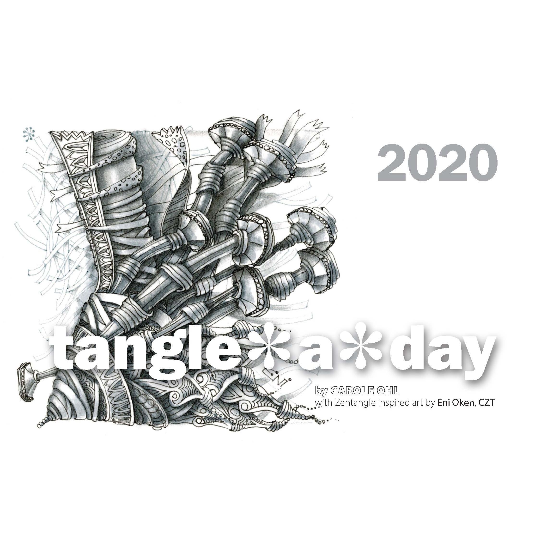 Tangle-A-Day Calendar 2020