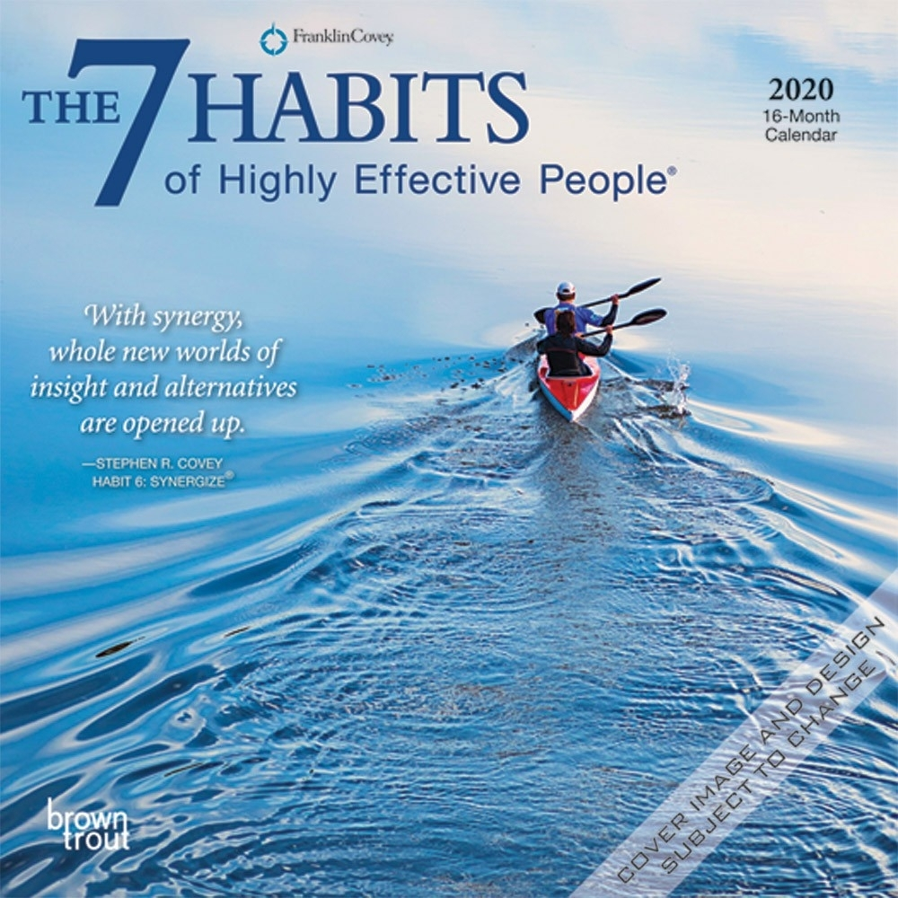 The 7 Habits Of Highly Effective People 2020 7 X 7 Inch