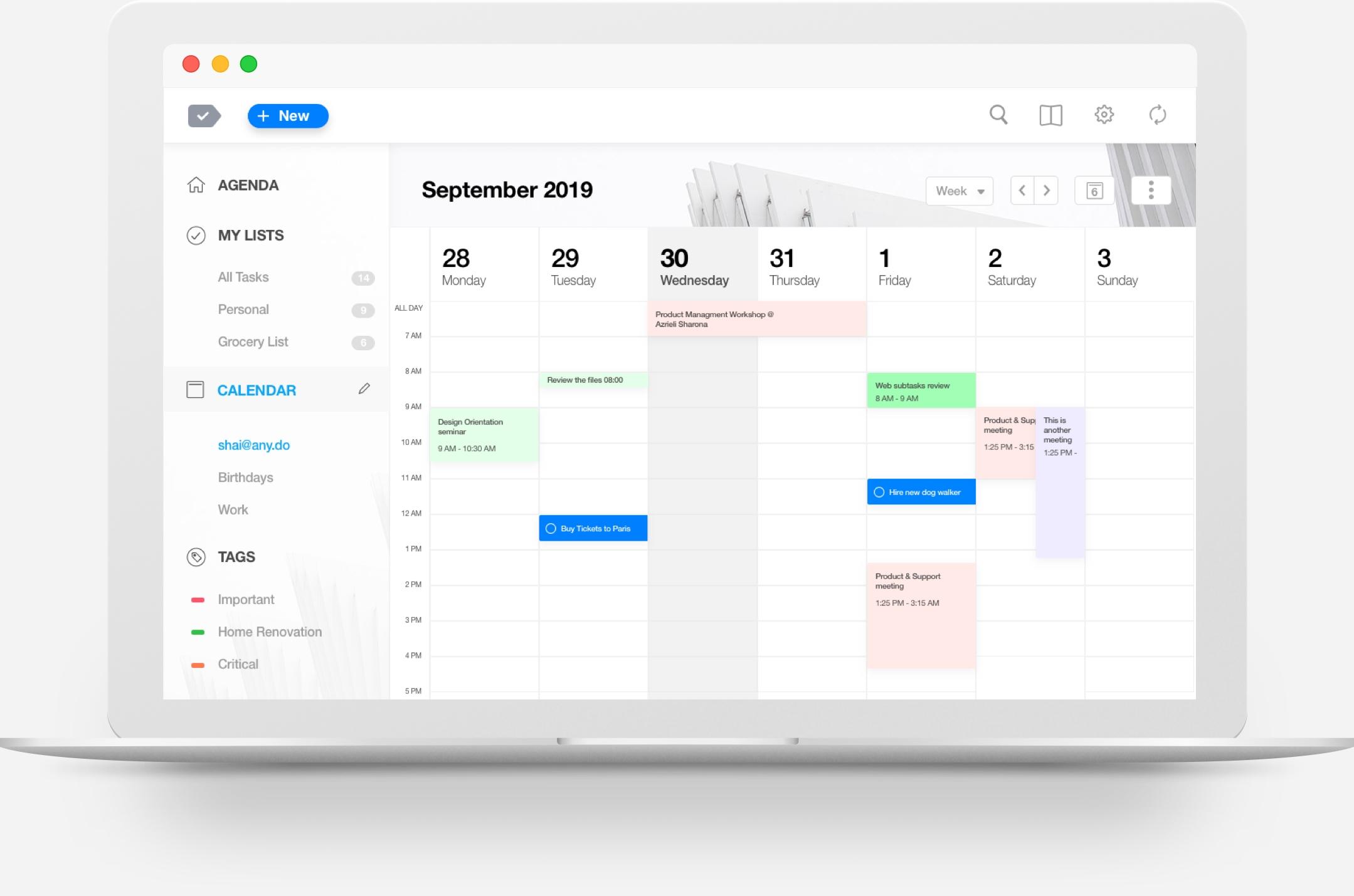 The Best Calendar App For Desktop | Any.do