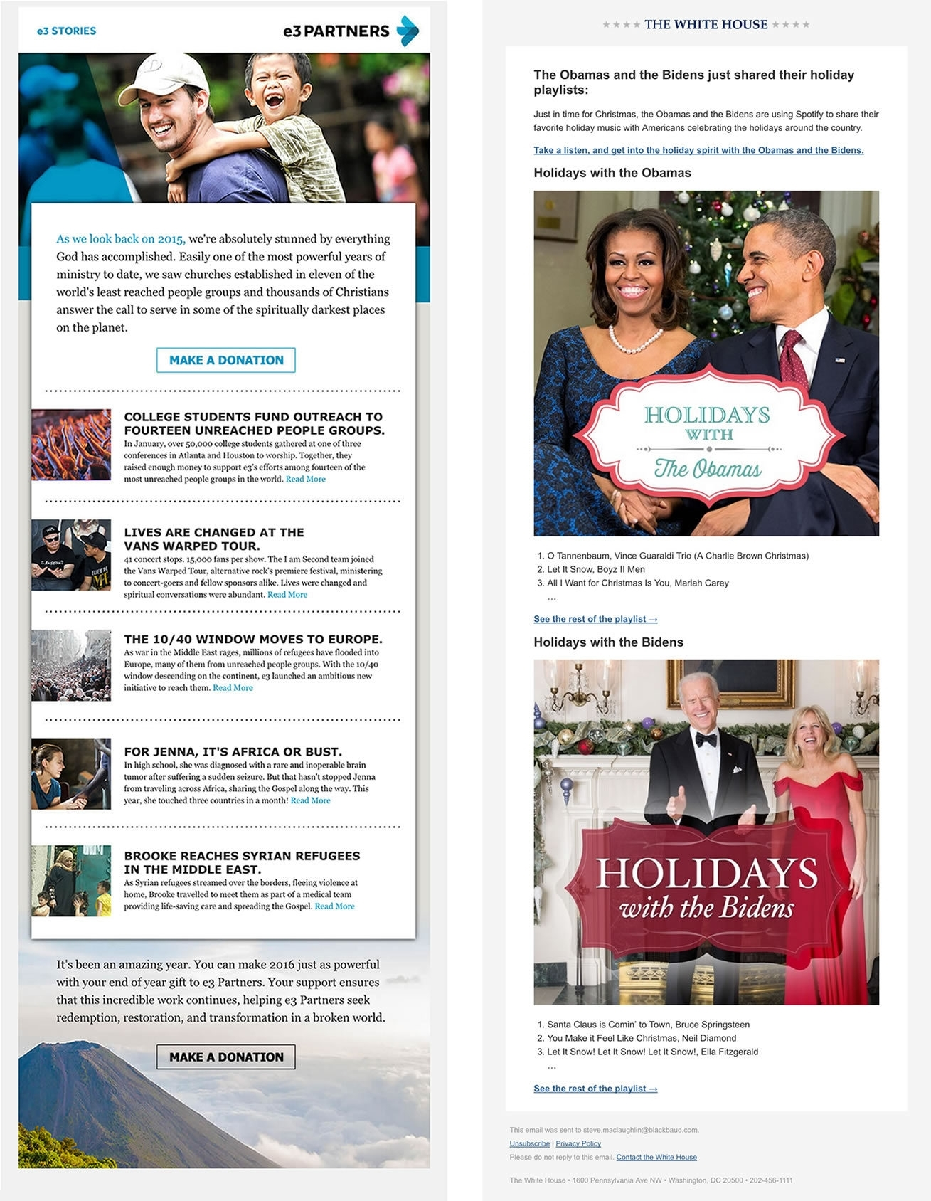 The Best Of End-Of-Year Email Campaigns | Npengage
