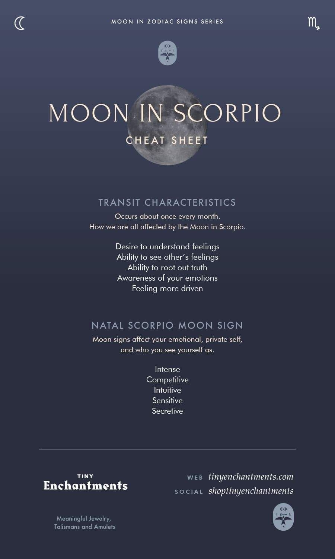 The Scorpio Moon - Scorpio Moon Sign And Moon In Scorpio
