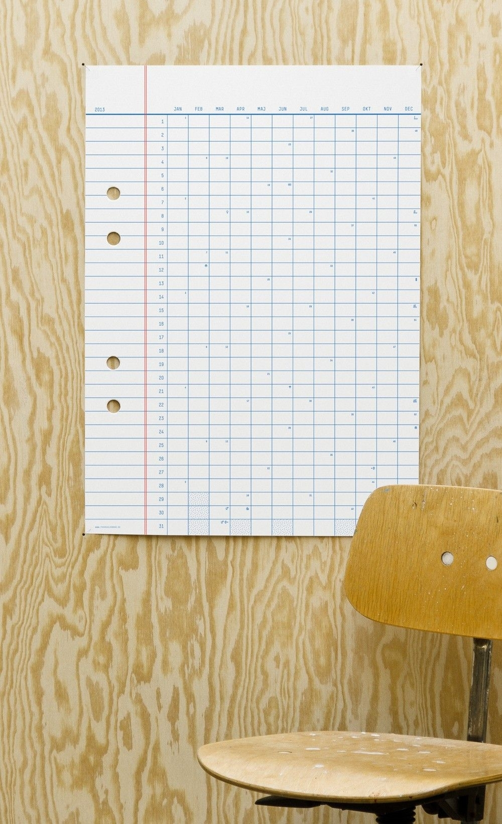 The Year Calendar Is Designedstockholm Based Designer
