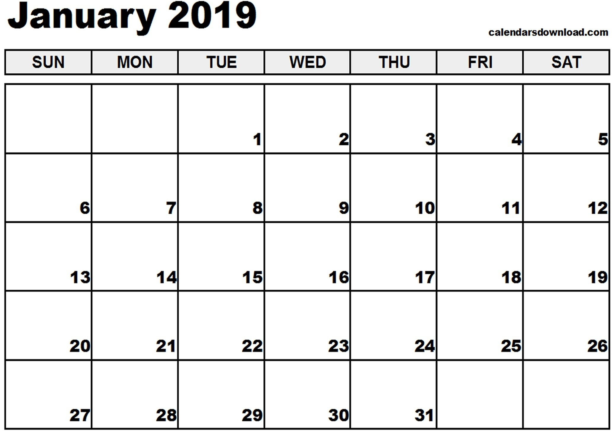 Timeanddate Com Printable Calendar 2019 | Printable Calendar