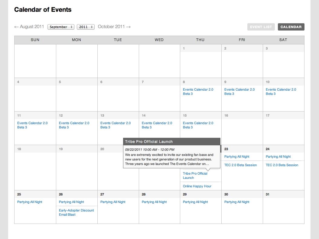 Top 5 Events Calendar Plugins For WordPress   Zaaviya