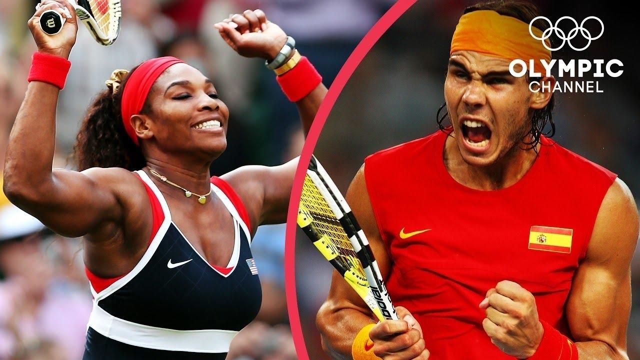 Top Tennis Singles Golden Slam Winners! | Top Moments